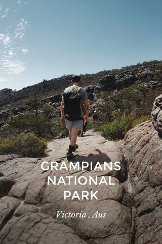 GRAMPIANS NATIONAL PARK Victoria , Aus