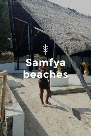 Samfya beaches