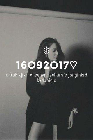 16O92O17♡ untuk kjixrl ohsehvnr sehurnfs jonginkrd kxdanielc