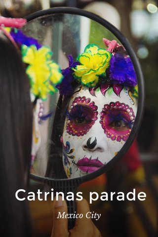Catrinas parade Mexico City