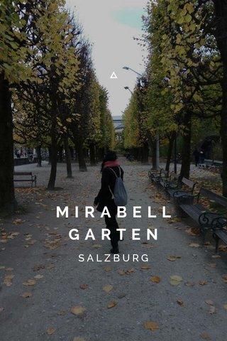 MIRABELL GARTEN SALZBURG