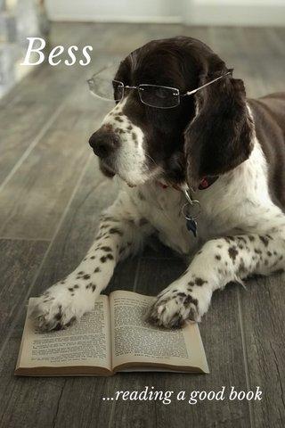 Bess ...reading a good book