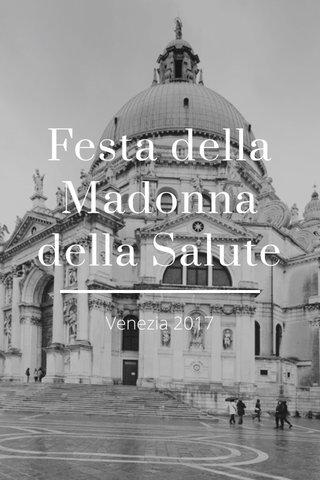 Festa della Madonna della Salute Venezia 2017
