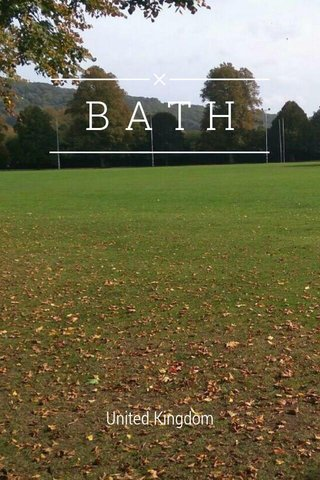 BATH United Kingdom