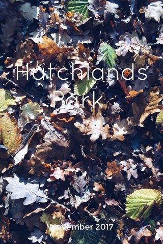 Hatchlands Park November 2017