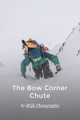 The Bow Corner Chute by Wijk Photography