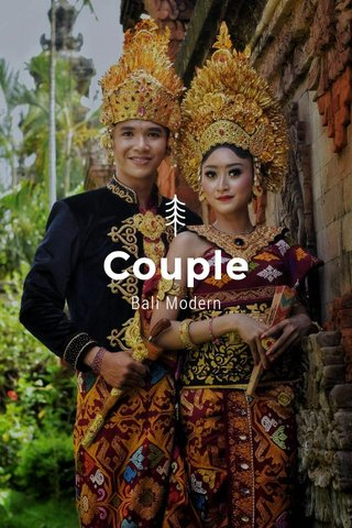 Couple Bali Modern