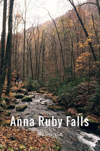 Anna Ruby Falls Helen, GA
