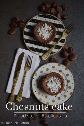 Chesnuts cake #food steller #stelleritalia