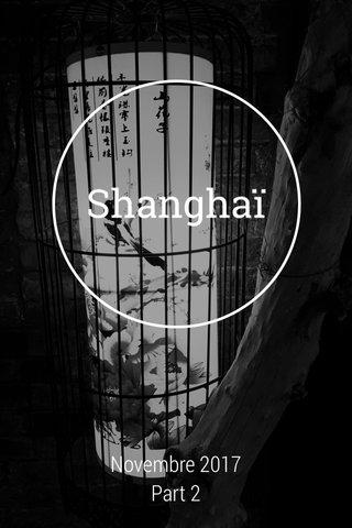 Shanghaï Novembre 2017 Part 2