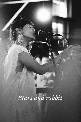 Stars and rabbit