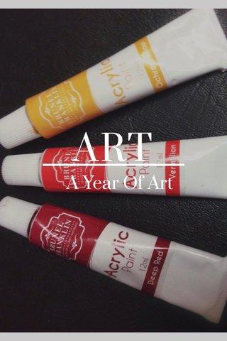 ART A Year Of Art