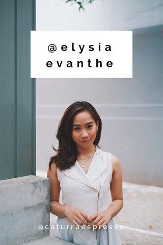 @elysiaevanthe @caturraespresso