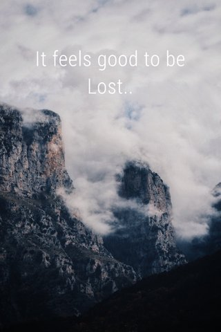 It feels good to be Lost..