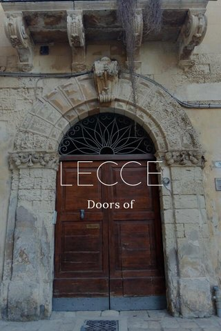 LECCE Doors of