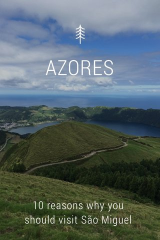 AZORES 10 reasons why you should visit São Miguel