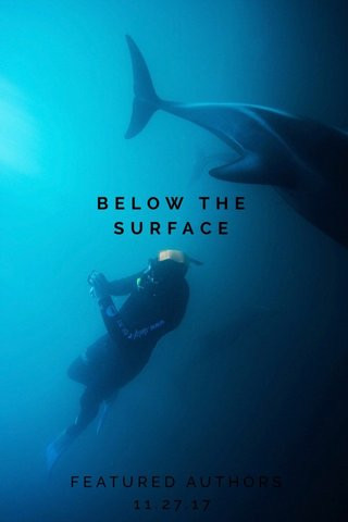 BELOW THE SURFACE FEATURED AUTHORS 11.27.17