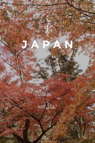JAPAN Nov, 2017