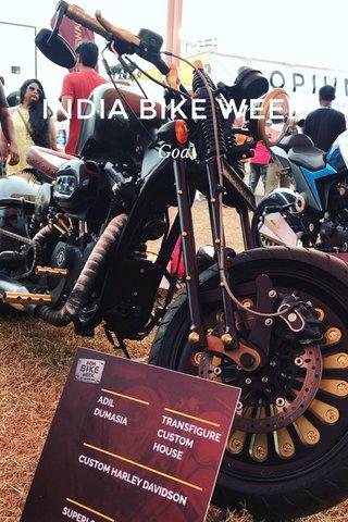 INDIA BIKE WEEK Goa
