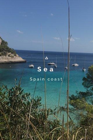 Sea Spain coast