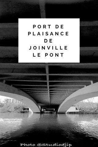 PORT DE PLAISANCE DE JOINVILLE LE PONT