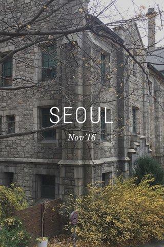 SEOUL Nov'16