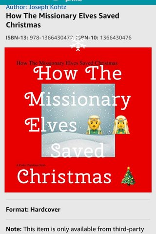 How The Missionary Elves 🧝♂️ 🧝♀️ Saved Christmas 🎄