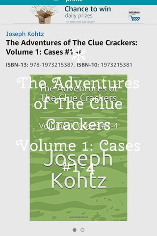 The Adventures of The Clue Crackers Volume 1: Cases #1-4