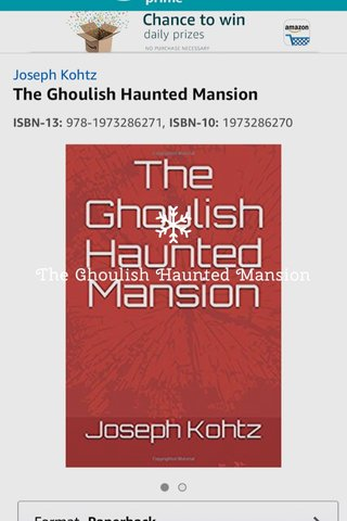 The Ghoulish Haunted Mansion