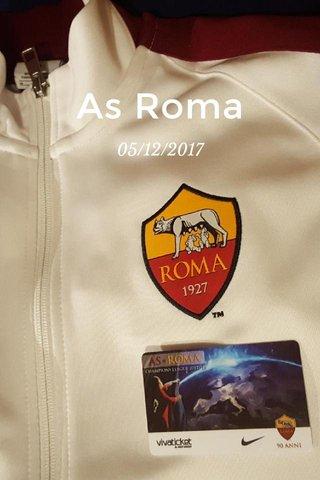 As Roma 05/12/2017