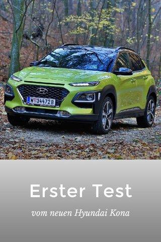 Erster Test vom neuen Hyundai Kona