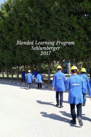 Blended Learning Program Schlumberger 2017