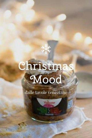 Christmas Mood dalle tavole veneziane