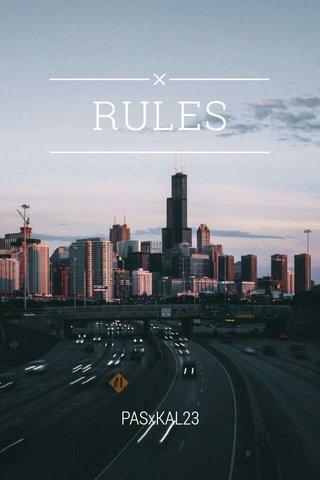 RULES PASxKAL23