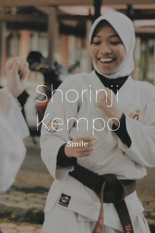 Shorinji Kempo Smile