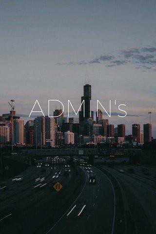 ADMIN's