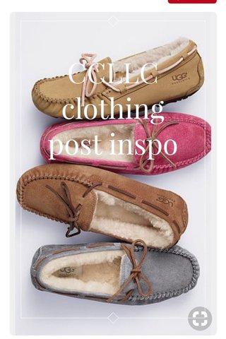 CCLLC clothing post inspo