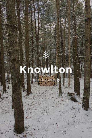 Knowlton Into the woods