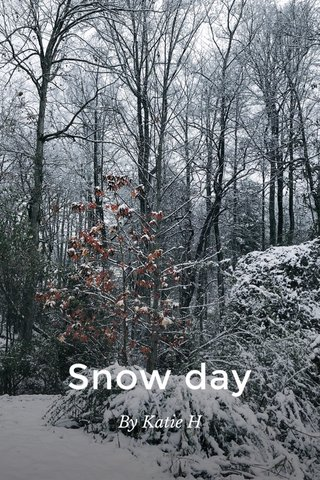 Snow day By Katie H