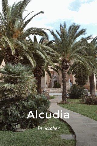 Alcudia In october