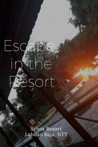 Escape in the Resort Sylvia Resort Labuan Bajo, NTT