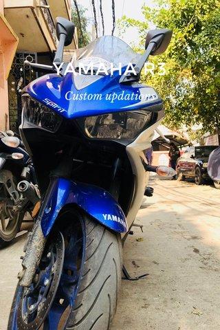 YAMAHA R3 Custom updations