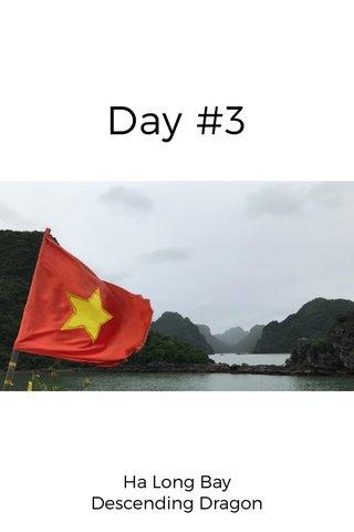Day #3 Ha Long Bay Descending Dragon
