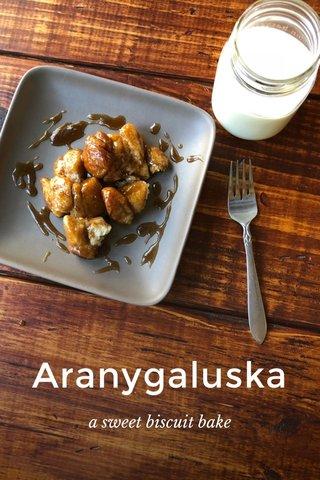 Aranygaluska a sweet biscuit bake