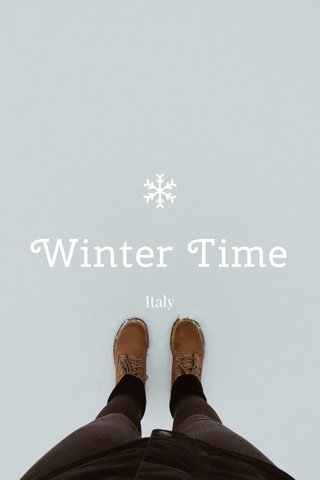 Winter Time Italy