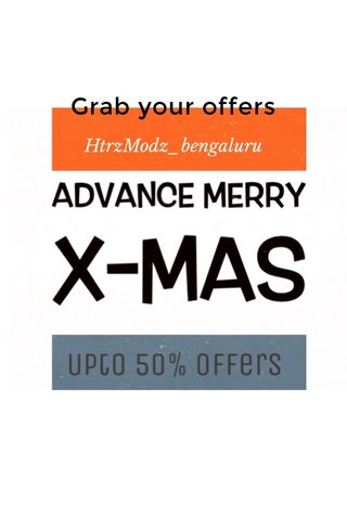 Grab your offers HtrzModz_bengaluru