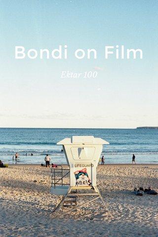 Bondi on Film Ektar 100