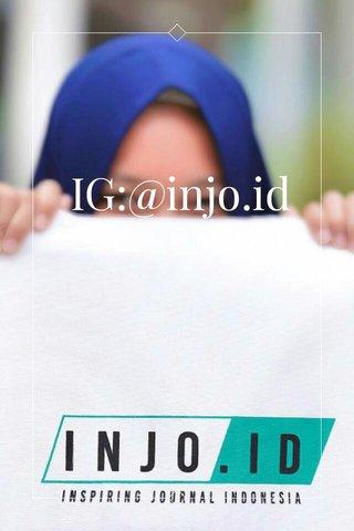 IG:@injo.id