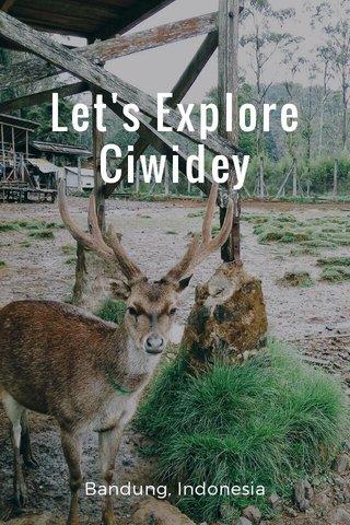 Let's Explore Ciwidey Bandung, Indonesia