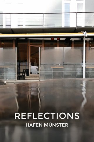 REFLECTIONS HAFEN MÜNSTER